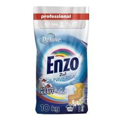 Deluxe Enzo порошок для стирки 2 в 1 Universal Enzyme Kraft 10кг