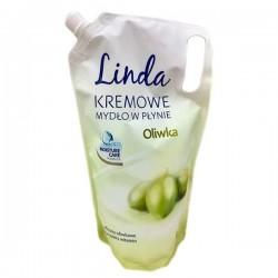 Жидкое крем-мыло Linda (запаска) с оливкой 1л