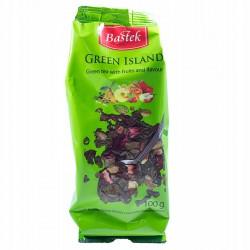 Чай Bastek Green Island листовой зеленый 100 г Польша