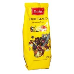 Чай Bastek Fruit Island листовой фруктовый 100 г Польша