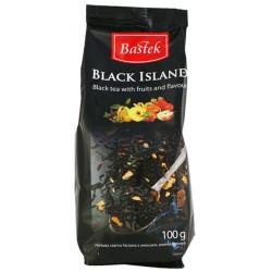 ЧАЙ BASTEK BLACK ISLAND черный 125г Польша