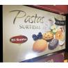 Печенье с кусочкими фруктов El Santo Pastas surtidas 380г (Испания)
