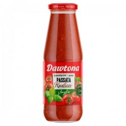 Соус томатный DAWTONA ПАСАТТА з базеликом 690г