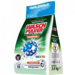 Порошок для стирки WaschPulver Universal для всех типов белья, 3.4 кг (40 стирок)