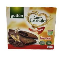 Злаковое печенье с шоколадом Gullon Takeaway Brownie, 220г