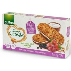 """Gullon Cuor di Cereale печенье-сэндвич """"Овсяное с лесными ягодами и молочным кремом"""" 220 г"""