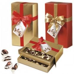 Шоколадные конфеты ассорти Vobro Frutti Di Mare в коробке с бантом, 250 гр