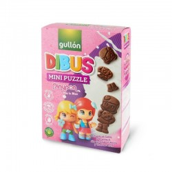 Печенье Gullon Dibus Mini Puzzle PiniPon (250 Г)