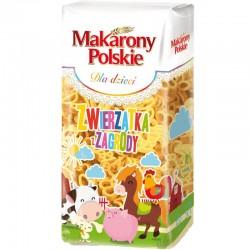 Макароны Makarony Polskie zwierzatka z zagrody 400г