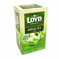 Чай зеленый LOYD Green tea pure 20 пакет.(34г)