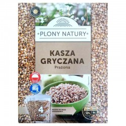 Каша Гречаная Plony Natury Kasza Gryczana Prazona (400 Г)