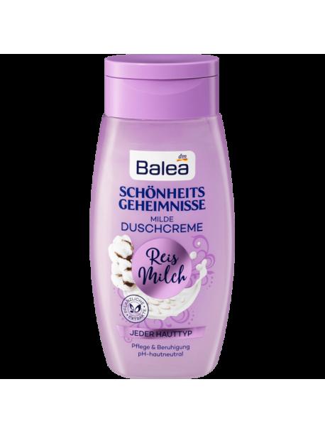 Гель для душа Balea Reis Milch с экстрактом рисового молока, 250 мл