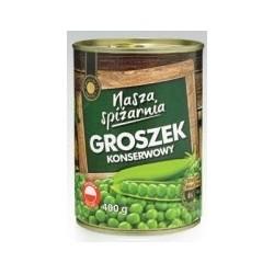 Горошек консервированный Nasza spizarnia , 400 г