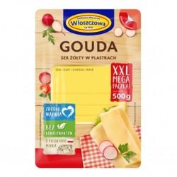 Сыр Gouda Wloszczowa, 300гр (Польша) нарезка