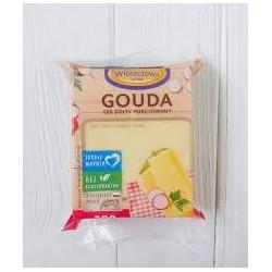 Сыр Gouda Wloszczowa, 300гр (Польша)