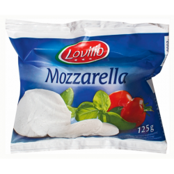 Сыр Mozzarella Lovilio в рассоле 125 г (220 г) Польша
