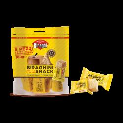 Сыр Gran Biraghi Biraghini Snack 12 мес. 100 гр (5х20 гр) Италия
