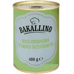 Сгущенное молоко с орехом Bakallino Masa Krowkowa Orzechowym