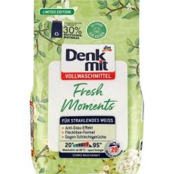 Порошок для белого Denkmit Vollwaschmittel Fresh Moments, 1.3кг