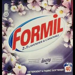 Порошок для стирки Formil 2 в 1 Lavender & Camomile, 2.6 кг (40 стирок)