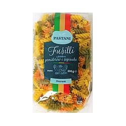 Макароны Pastani Fusilli pomidor spinat 500 г