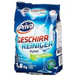 Порошок для посудомоечных машин Priva 1,8 кг, Германия