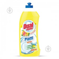 Средство для мытья посуды Dual Power Цитрус 1л