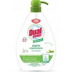 Dual Power гель для мытья посуды Green Life 1л