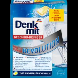 Таблетки для посудомоечной машины Denkmit DM Денкмит 40 шт Германия