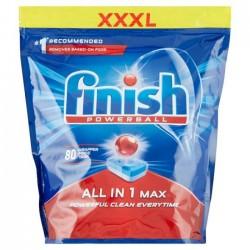 Таблетки для посудомоечной машины FINISH Powerball All-in-1 Max, 80 шт