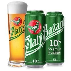 Пиво светлое Zlaty Bazant Золотой Фазан0.5 л ж\б. Чехия
