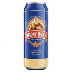 Пиво светлое Smadny Mnich Хитрый монах 4.2 % 0.5 l ж\б Чехия