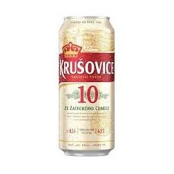 Пиво светлое Krusovice Original 10% 0.5 банка Чехия