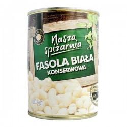 Консервированная белая фасоль Nasza Spizarnia 400 г Польша