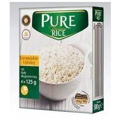 Рис белый Pure Rice 4x125g Польша