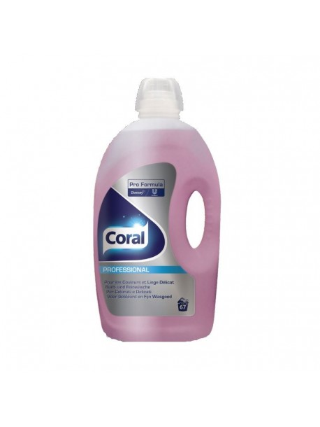 Гель для стирки Coral Professional Color gel 67p / 5L