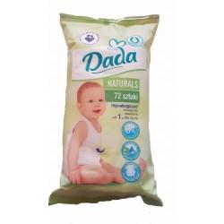 """Влажные салфетки """"DADA Naturals"""" 72 шт"""