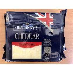 Сыр чеддер Cheddar Brittany`s, 200 г. (Великобритания)